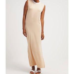 Dresses & Skirts - Won Hundred Christie Tee Dress XS Jersey Tan Maxi